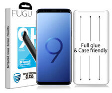 FUGU Samsung Galaxy S9 Full Glue Adhesive Tempered Glass Screen Protector