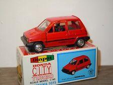 Honda City Turbo - Diapet Yonezawa Toys G-24 Japan 1:40 in Box *34970
