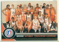 PROMO CARD - WNBA - 2008 - #P1 - WOMEN'S BASKETBALL
