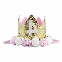 Baby Princess Tiara Crown, Baby, 4th Birthday Crown, Size Birthday Crown um8p