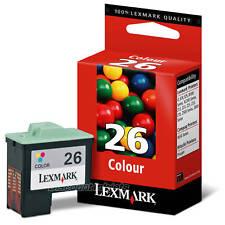 GENUINE Lexmark 10N0026 26 COLOR Ink Cartridge x1185 z515 x1195 x1150 z23 x1180