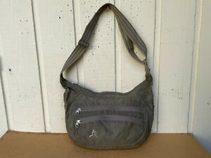 OverLand Equipment Waxed Distressed Canvas Crossbody Messenger Bag. Expandable