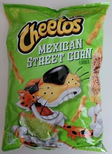 NEW FRITO LAY CHEETOS MEXICAN STREET CORN FLAVORED CRUNCHY CHIPS FREE SHIPPING