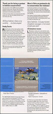 CANADA 2008 DUCK STAMP IN FOLDER RUDDY DUCK by Patricia Pepin