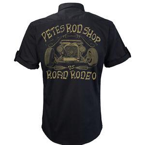 Worker Shirt, Hemd, Rockabilly, Rock'n'Roll, Hot Rod, US Car, Petes Rodshop
