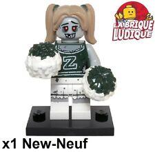 Lego - Figurine Minifig Minifigurine série 14 monsters Cheerleader pom pom NEUF