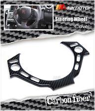 Carbon Fiber Steering Wheel Controller Cover Trim for NISSAN GTR R35 GT-R 35