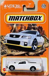 Matchbox 2008 Holden VE UTE SSV White 2021 New Release