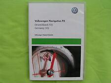 CD NAVIGATION FX DEUTSCHLAND + EU 2011 V3 VW RNS 310 GOLF PASSAT TIGUAN TOURAN