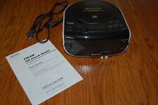 Sony Fm Am Cd Clock Radio Dream Machine Icf-Cd815 with Instructions Limited use
