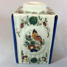 Antique Dutch Delft Polychrome Jar/Pot. Wonderful condition!