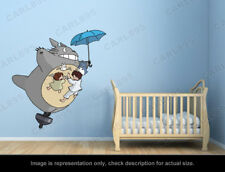 Ghibli Totoro - Flying Top Wall Art Applique Sticker