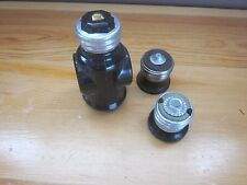 Set of Vintage Eagle Electric Light Adapter and Socket Plugs