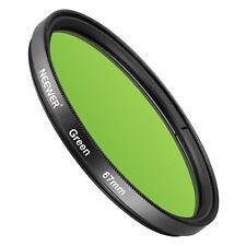 Neewer 67Mm Filtro De Lente Verde Para Canon Eos Cámara Réflex Digital