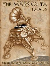 Emek Mars Volta 2005 Santa Barbara Bowl Poster