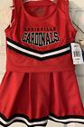 Louisville Cardinals Toddler Girl's Cheerleader Outfit / Uniform, Halloween, New