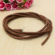 "71"" 3/16""Leather Belt Treadle Parts with  Hook for Singer/Jones Sewing Machine0Q"