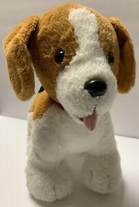 "Build A Bear Puppy Dog Promise Pets Plush Beagle 12"" Brown Black White Stuffed"