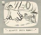 Hey Good Lookin Ralph Bakshi 1973-82 animation Hand-Drawn Storyboard 90