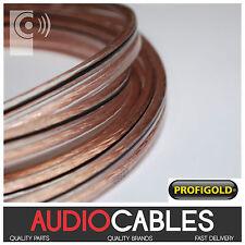 Profigold 2.5mm² Cable OFC Studio grado bassflex altavoz aire aislamiento de la espuma
