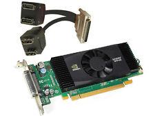 PNY NVIDIA Quadro NVS420 512MB Video Graphics Card Quad DP Low profile bracket