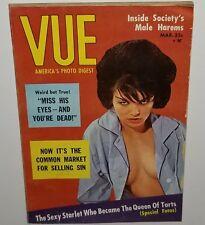 VUE 1960s PINUP MAGAZINE CHEESECAKE PHOTO BOOK VINTAGE PHOTOGRAPHY EROTICA VTG a