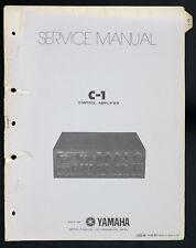 Yamaha C-1 Original Stéréo Contrôle Amplificateur / Manuel de Service o143