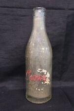 Antique Crown Soda 7 1/2 FL. OZ. Glass Bottle
