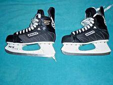 New listing Bauer Supreme 2000 Tuuk Custom Black Hockey Skates Mens Skate Size 7.5, Shoe 9Sk