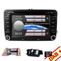 "7"" Car Stereo GPS DVD Player Radio Head Unit for VW Jetta Passat Polo Caddy EOS"