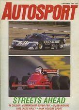 Autosport Sept 3rd 1987 * Birmingham super prix F3000 & Nurburgring 1000 Km *