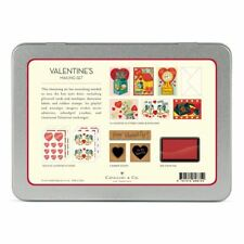 Cavallini - Mailing Set - Vintage Valentine - Cards, Stamps, Stickers & Ink Pad