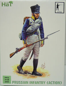 Prussian Infantry (IN Action) , 28mm, HÄT , Figurines, New