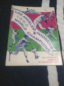 1964 Los Angeles Dodgers Yearbook in excellent-near mint condition  (see scan)