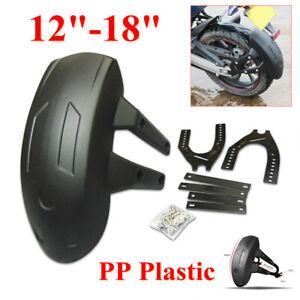 40x30x18cm Motorcycle Rear Wheel Cover Fender Mud Flap Splash Guard PP Plastic