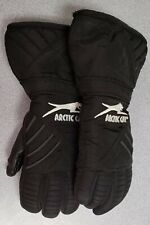 Arctic Cat Youth Snowmobile Gloves, Black, Small
