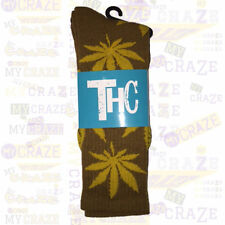 THC The Holy Couture Plant Life Brown Socks