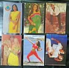 Sridevi Jayapradha bollywood fan collectible picture postcards PPC India Mix 5x