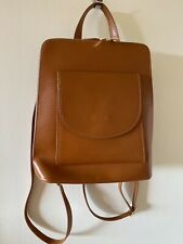 Cobvertible Backpack Leather Anna Luchini