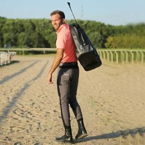 Diamond Equestrian Horse Riding Bag Patent Leather Boot Helmet Waterproof Travel