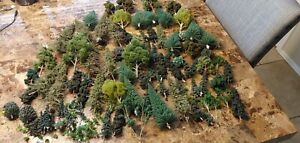 Giant lot of Woodland Scenics and other various trees. All from my train layout.