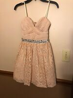 *ONLY BEEN WORN ONCE* Jodi Kristopher Pink Homecoming Dress