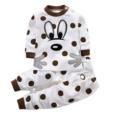 children's set of pure cotton warm home wear baby clothing sets
