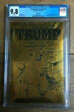 Tremendous Trump #NN Gold Foil Limited to 300 Copies Hulk #1 CGC 9.8 2061047003