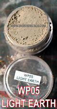 WP05 DAVART DAVE'S WEATHERING POWDERS ALL NATURAL PIGMENT LIGHT EARTH DUST DIRT