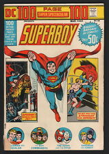 DC 100 PAGE SUPER SPECTACULAR, #DC-15, 1973, VG- CONDITION COPY, SUPERBOY