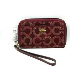 COACH MADISON DOT EAST WEST UNIVERSAL CASE/ WRISTLET/ IPHONE 5, 4, 4S CASE 63276