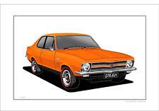 HOLDEN  LC  GTR-XU1   TORANA   LIMITED EDITION  CAR PRINT  AUTOMOTIVE ARTWORK
