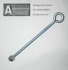 Garage door spares retractable door spring eye bolt 8mm 200mm  eyebolt