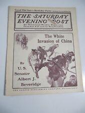 The Saturday Evening Post Magazine-November 16, 1901-The White Invasion of China